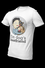 Dog BFF Male Dryfit Shirt With Logo At The Back