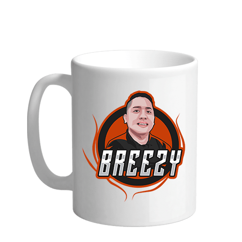 Breezy Sublimation White Mug