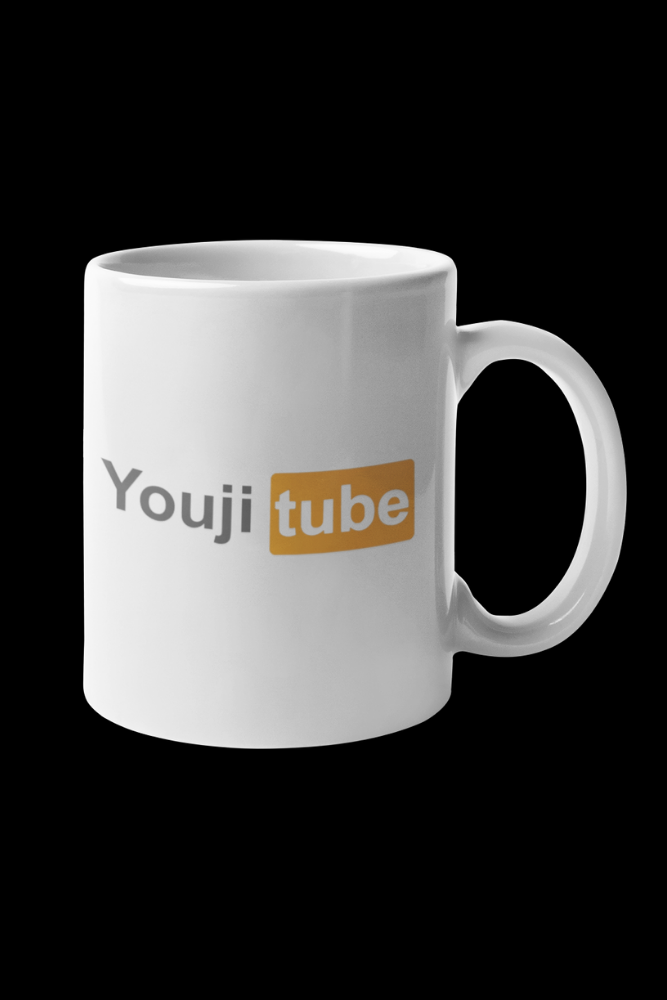 Youjitube Orange Sublimation White Mug