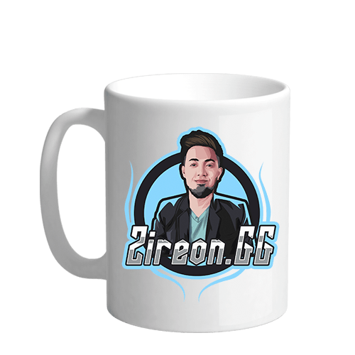 Zireon.GG Sublimation White Mug