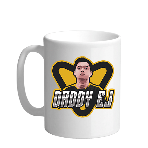 DaddyEj Sublimation White Mug