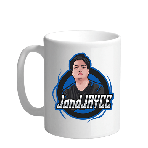 JandJayce Sublimation White Mug
