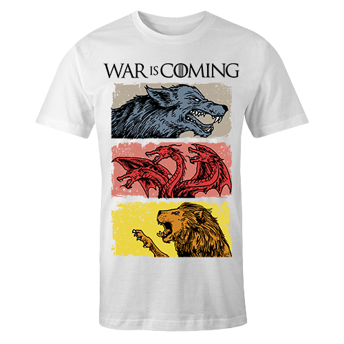 War Is Coming Sublimation Dryfit Shirt
