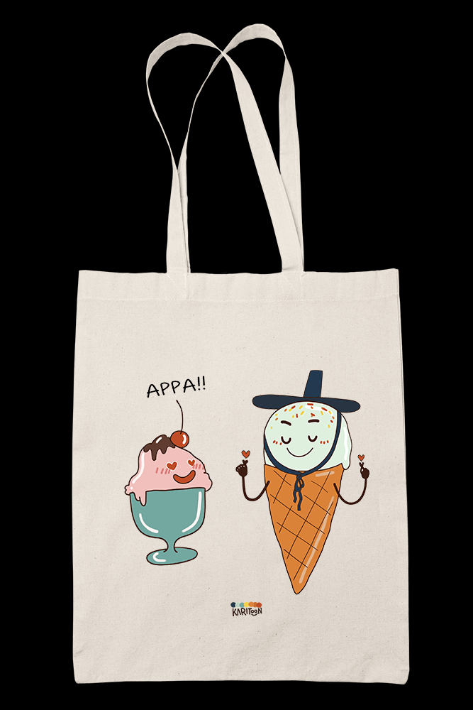 Appa Sublimation Canvass Tote Bag