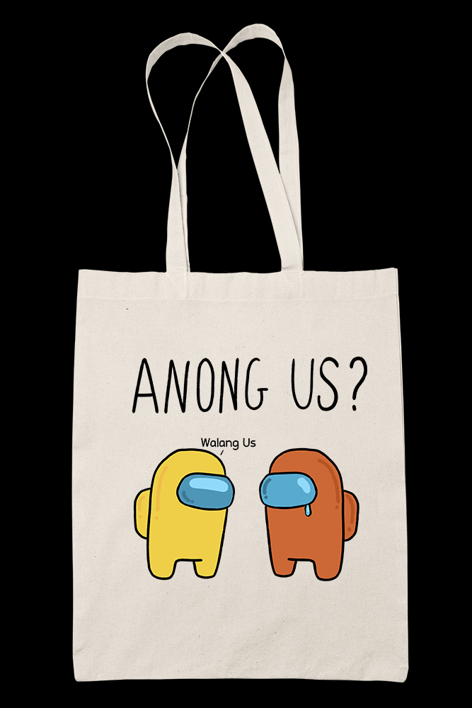 Anong Us Sublimation Canvass Tote Bag