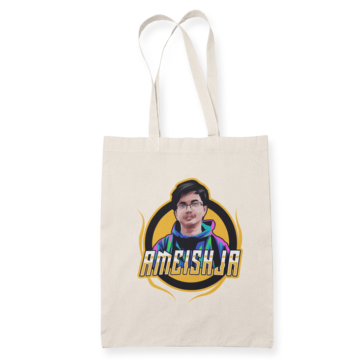 Ameishja Sublimation Canvass Tote Bag