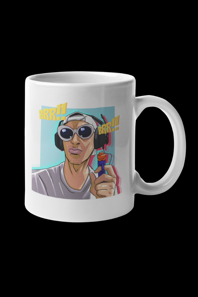 Tyrone The Gangsta Sublimation White Mug