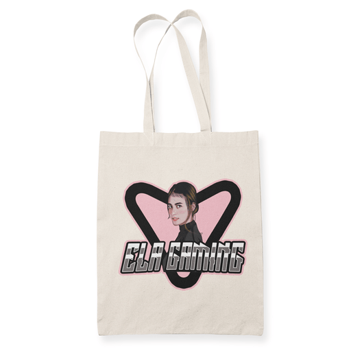 Ela Gaming Sublimation Canvass Tote Bag