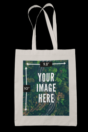Customized Sublimation Canvass Tote Bag