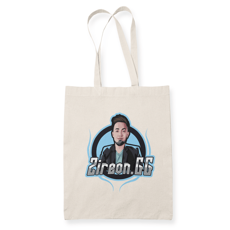 Zireon.GG Sublimation Canvass Tote Bag
