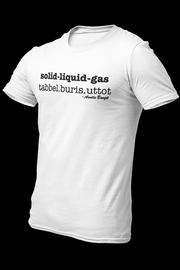 solid liquid gas Cotton Shirt