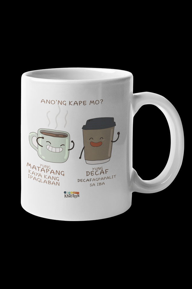 Kape Decafagpapalit Sublimation White Mug
