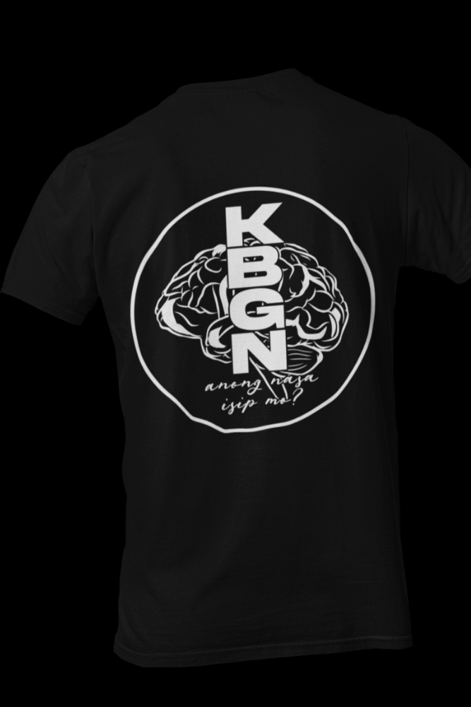 KBGN Black Cotton Shirt With Back Print