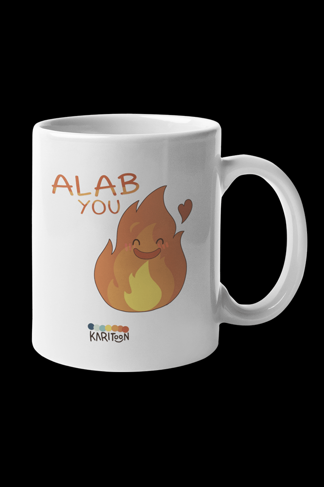 Alab You Sublimation White Mug