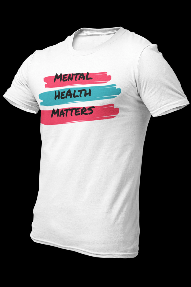 Mental Health Matters Colors Sublimation Dryfit Shirt