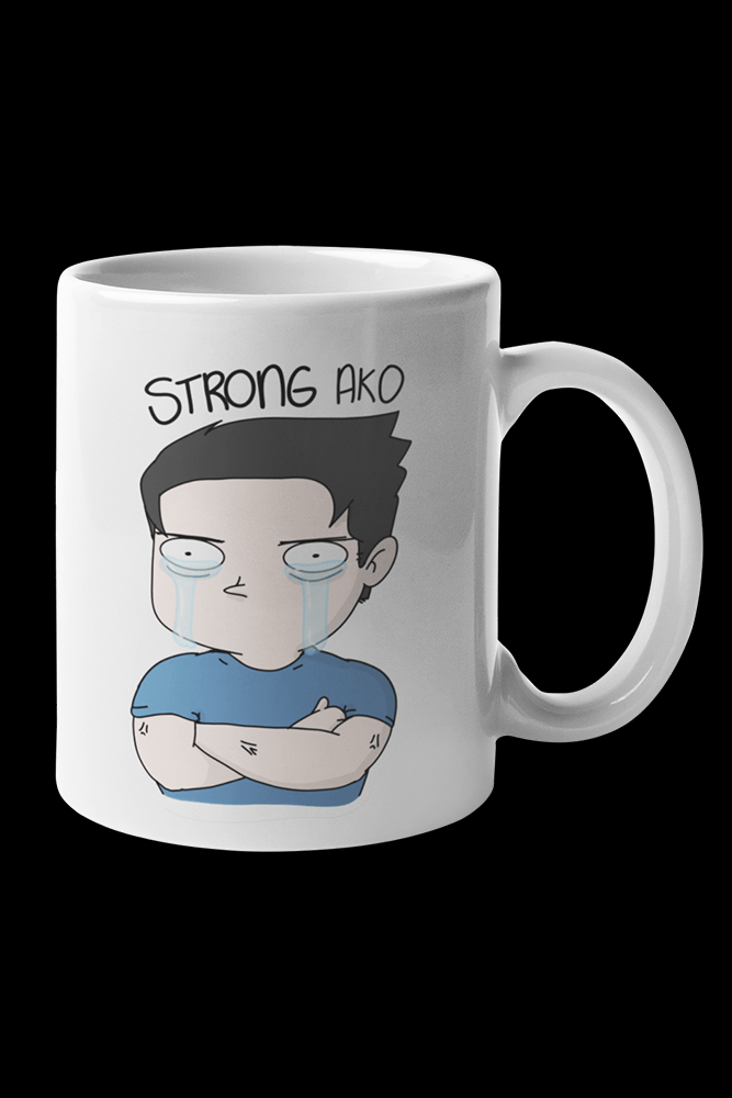 Strong Ako Sublimation White Mug