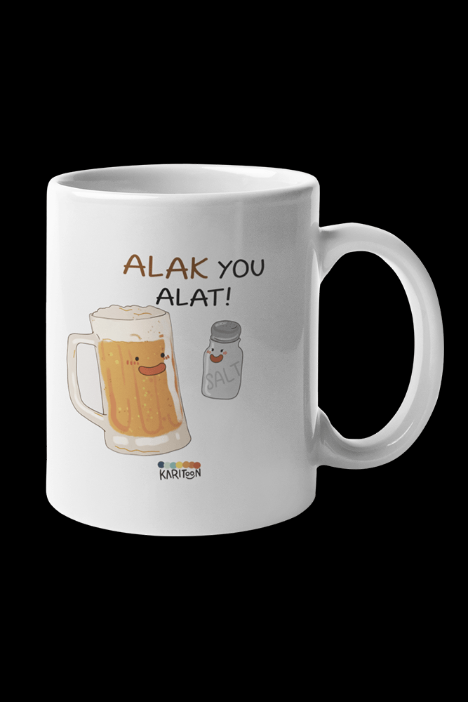 Alak You Alat Sublimation White Mug