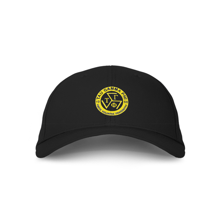 TGP Logo Black Embroidered Cap