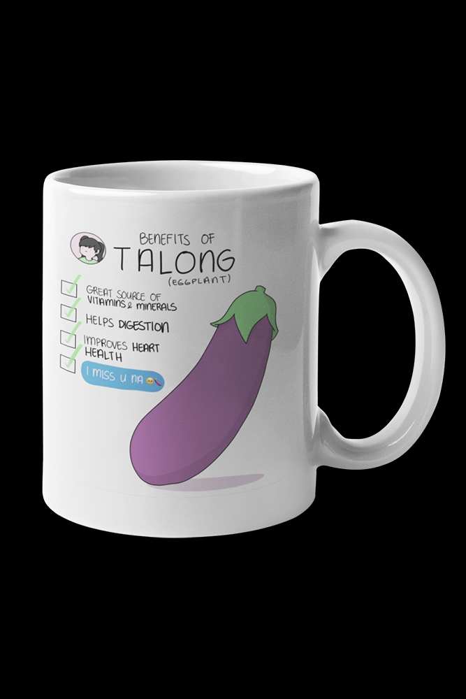 Talong Benefits Sublimation White Mug