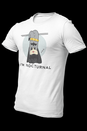 Nocturnal Sublimation Dryfit Shirt With Logo At The Back