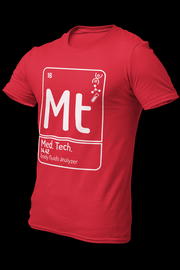 Med tech Cotton Shirt With Logo At The Back