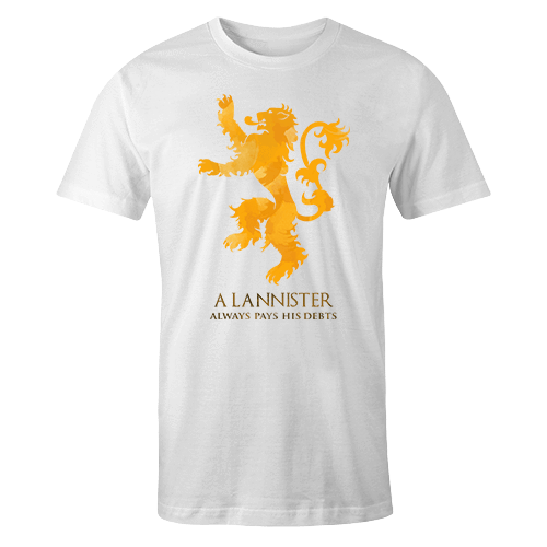 Lannister Sublimation Dryfit Shirt