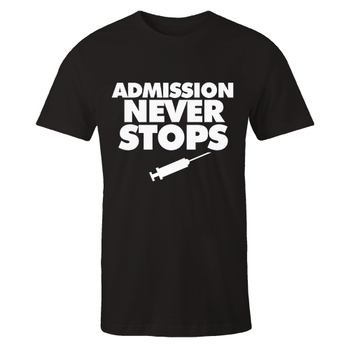 Admission Black Cotton Shirt
