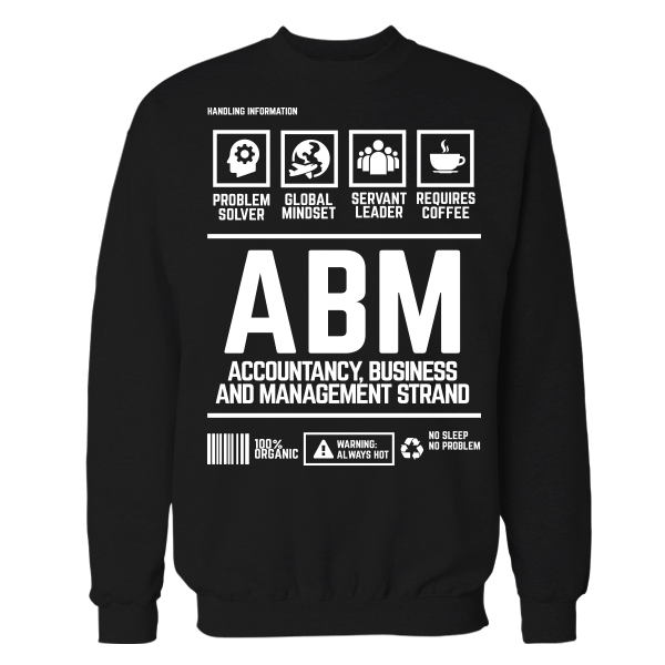 ABM Handling Black Cotton Shirt