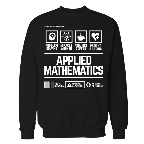 Applied Mathematics Handling Black Cotton Shirt