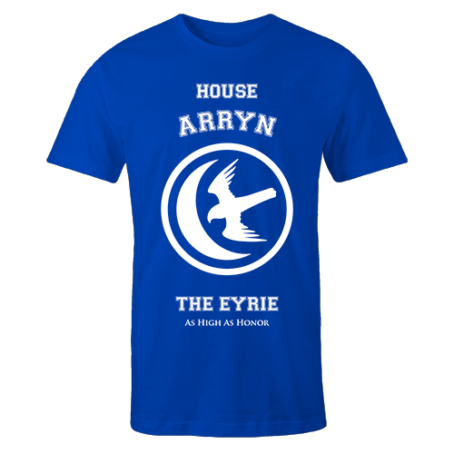 House Arryn Blue Cotton Shirt