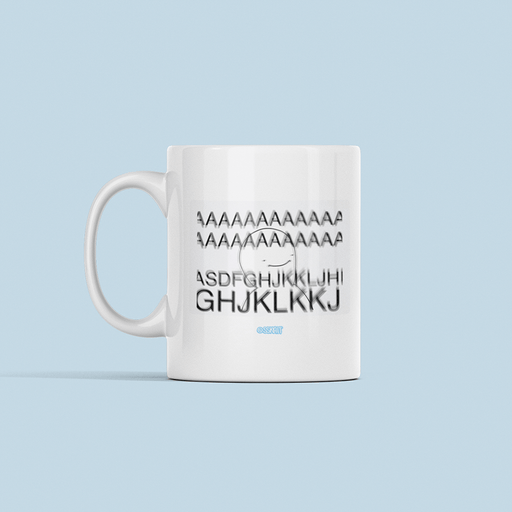 Agsdfghjl Sublimation White Mug