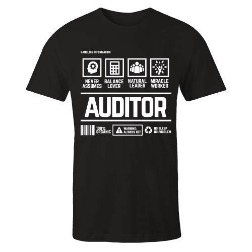 Auditor v2 Handling Black Cotton Shirt