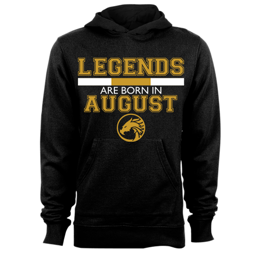 Legends are Born in August v5 G5 Cotton Shirt