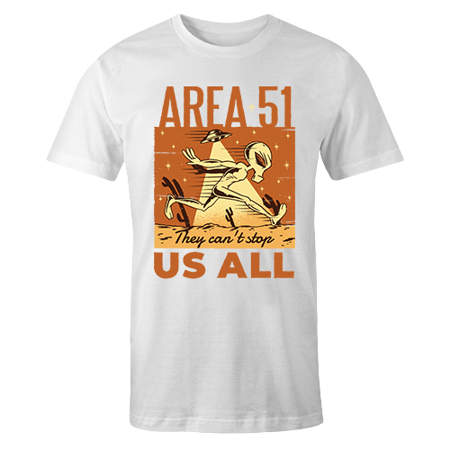 Alien 51 Sublimation Dryfit Shirt