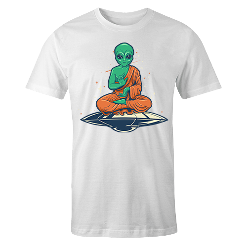 Alien Buddha Sublimation Dryfit Shirt