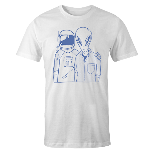 Alien Buddy Sublimation Dryfit Shirt