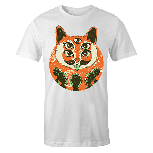 Alien Cat God Sublimation Dryfit Shirt