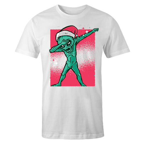 Alien Dab Sublimation Dryfit Shirt