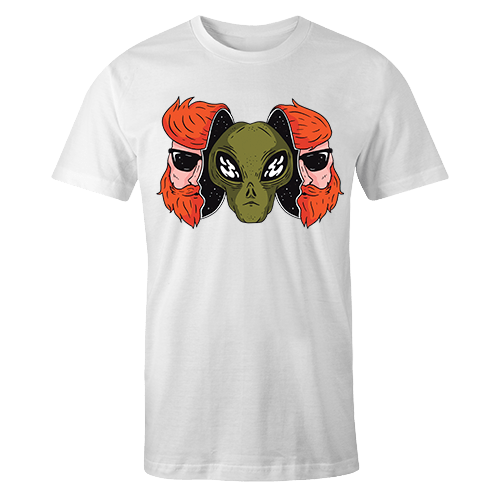 Alien Hipster Sublimation Dryfit Shirt