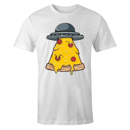 Alien Pizza Sublimation Dryfit Shirt