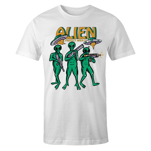 Alien Protect Sublimation Dryfit Shirt