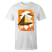 Alien Pyramid Sublimation White Dryfit Shirt