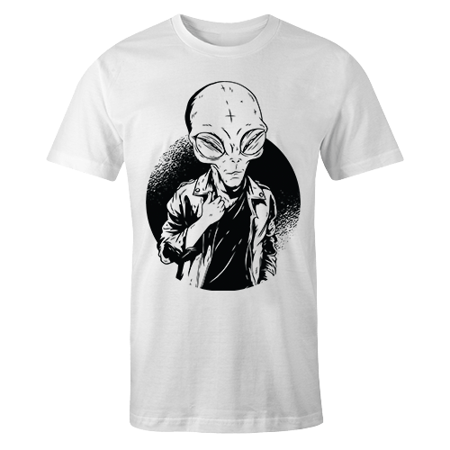 Alien Rockstar Sublimation Dryfit Shirt