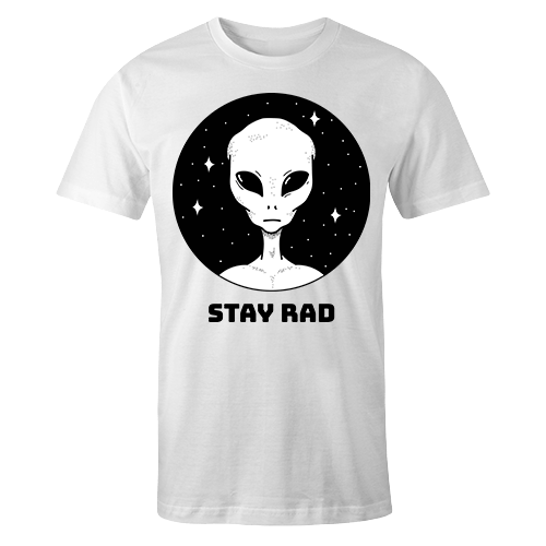 Alien Stay Rad Sublimation Dryfit Shirt