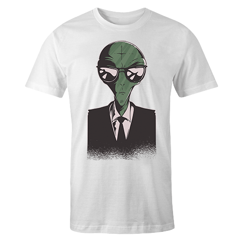 Alien Suit Sublimation Dryfit Shirt