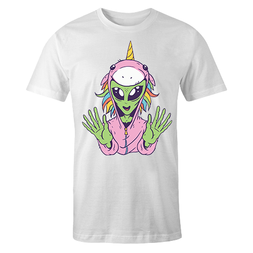 Alien Unicorn Sublimation Dryfit Shirt