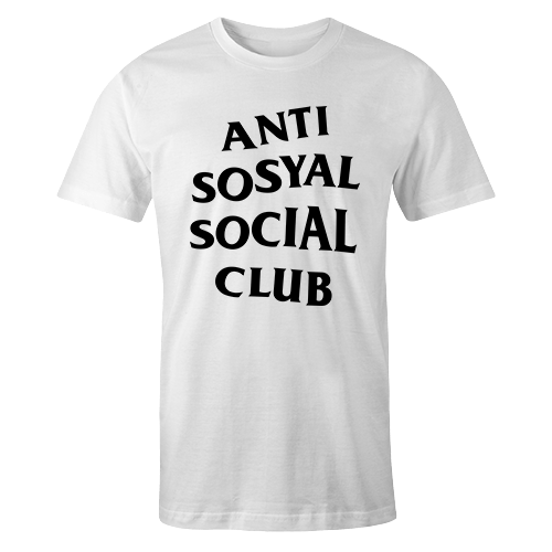 Anti Sosyal Sublimation Dryfit Shirt