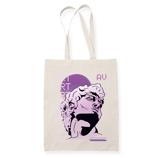 Art Wave Sublimation Canvass Tote Bag