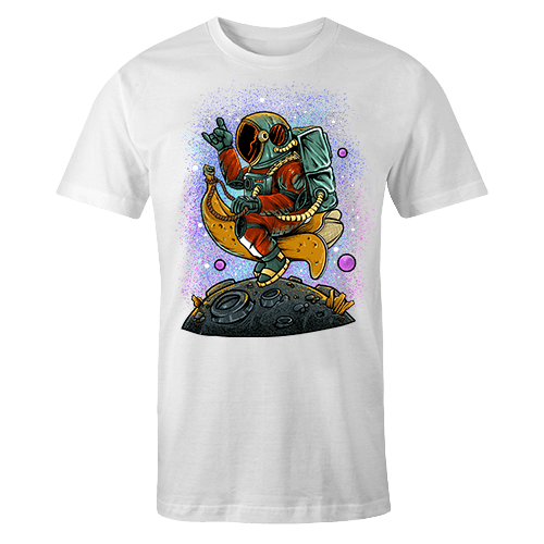Astro Banana Sublimation Dryfit Shirt