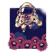 Astro Flowers Sublimation Dryfit Shirt
